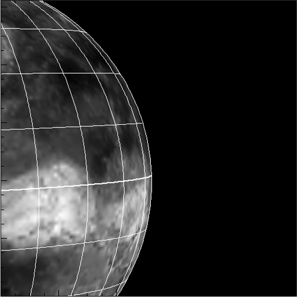 Reproduction of the near-IR image of Venus by simulationsの写真