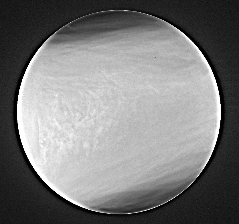 Venus in near-IR (May 7, 2016)の写真