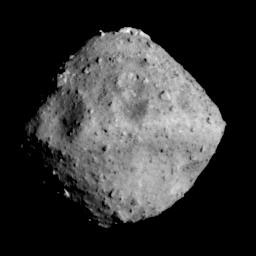 Figure 2: Asteroid Ryugu photographed by the ONC-T.