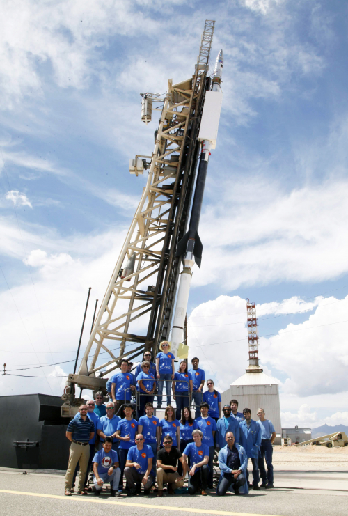 Group photo of FOXSI-3 team before the launch
