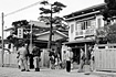 当時の宿舎の一つ鳥海荘(秋田県由利郡岩城町)