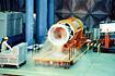 M-3C-1号機TVC装置の試験(内之浦/東京大学鹿児島宇宙空間観測所)