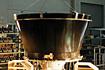 M-V第2段モータ伸展ノズルの伸展試験(相模原/宇宙科学研究所)