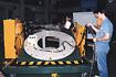 M-V-4号機モーションテーブル試験(相模原/宇宙科学研究所)