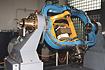 M-V-4号機姿勢制御のためのモーションテーブル試験(相模原/宇宙科学研究所)