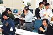 ASTRO-E衛星軌道投入失敗に沈むテレメーターセンター(内之浦/宇宙科学研究所鹿児島宇宙空間観測所)