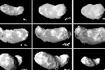 「はやぶさ」の撮影した小惑星イトカワの形状