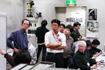 「はやぶさ」管制室(相模原/JAXA宇宙科学研究本部)