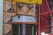 M-V-6号機組み立て風景(JAXA内之浦宇宙空間観測所)