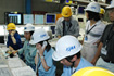 M-V-6号機打上げ時のコントロールセンター(JAXA内之浦宇宙空間観測所)