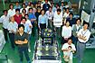 「れいめい/INDEX」プロジェクトメンバー(相模原/JAXA宇宙科学研究本部)
